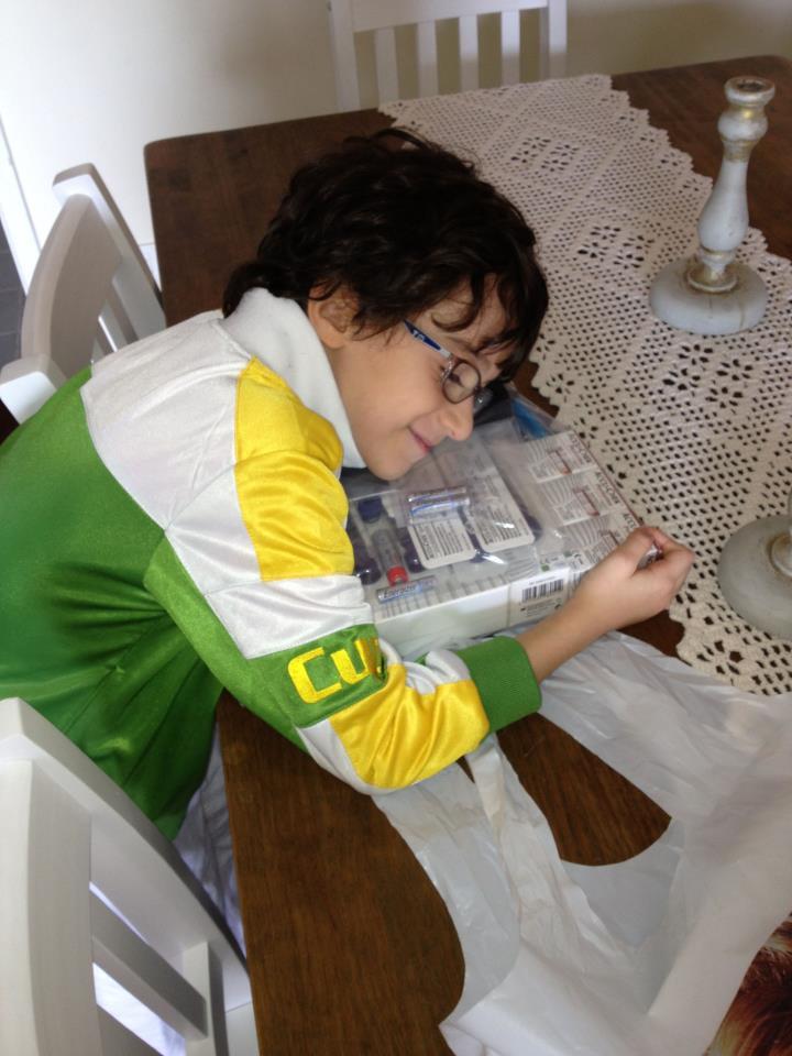 Bomba de Insulina – chegou o kit do teste!