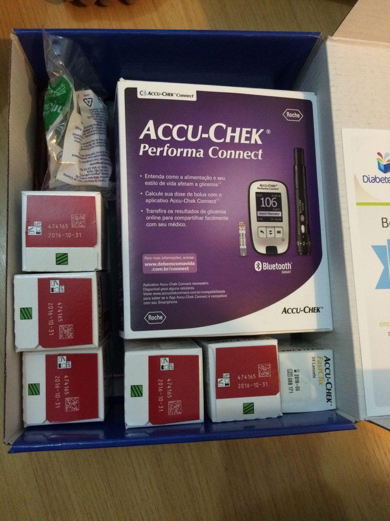 Diabetes Box e a loja De Bem com a Vida